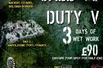 Call to Duty V – Shoreline / Guerilla Paintball